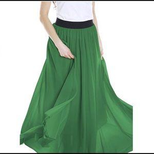 Float Green Maxi Dress